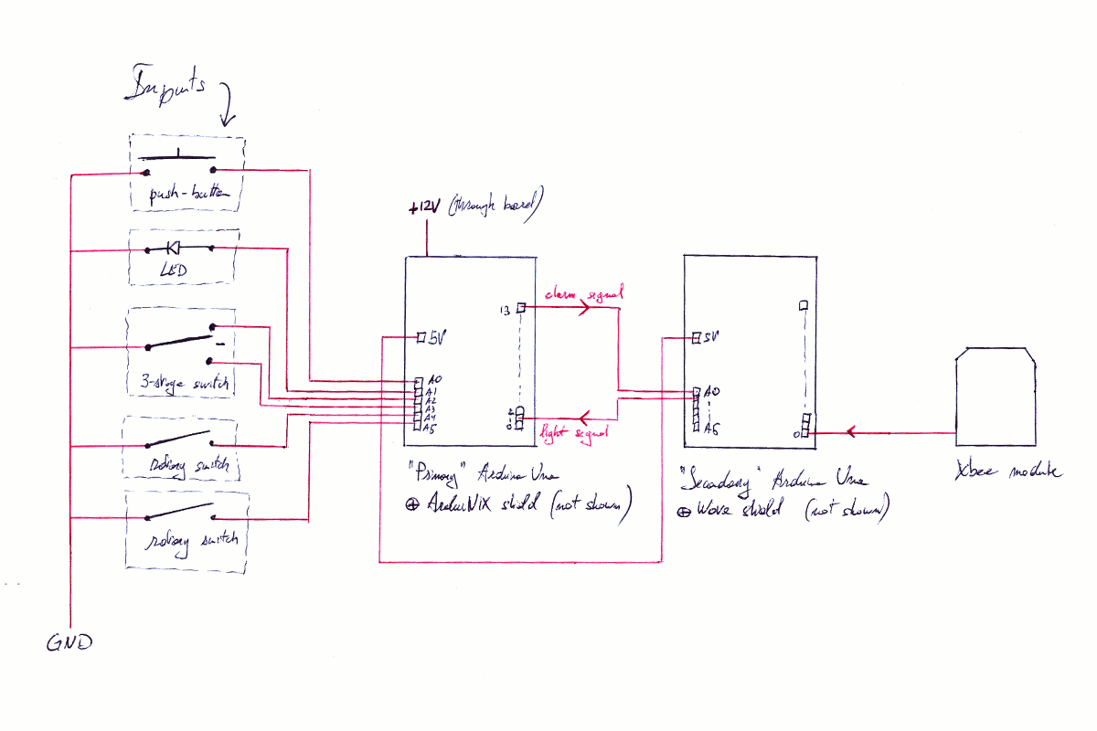 In 18 Nixie Tube Clock Circuits And Wiring Diagrams Hazardous Schematic Interior Inputs